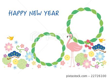 vector, vectors, new year's card 22726100