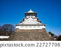 城堡 小倉城 市祖奇城堡 22727706