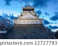城堡 小倉城 照亮 22727783
