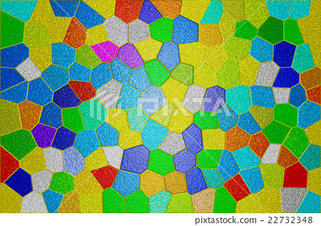 Colorful stained glass 22732348
