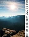 mountain, peaks, sunrise 22736396