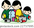 emergency supply, plastic bottle, family 22737095