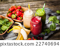 Milkshakes and smoothies 22740694