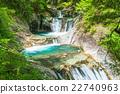 【야마나시 현] 니시자와 계곡 · 七쯔釜 五段の滝 22740963
