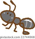 一隻螞蟻 螞蟻 昆蟲 22744668