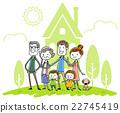家庭 家族 家人 22745419