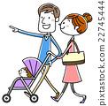 pushchair, stroller, child 22745444