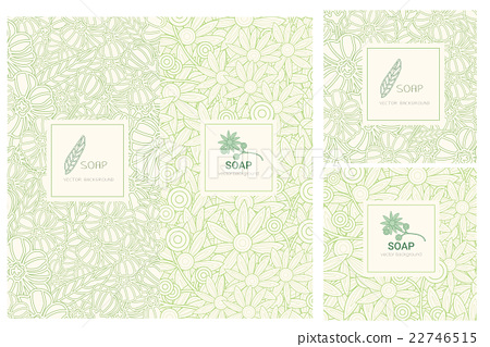 Vector set of design elements and icon 22746515