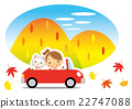 driving, vector, yellow leafe 22747088