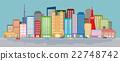 city, cityscape, town 22748742