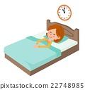 Sleeping early hours 22748985