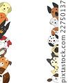 動物 圖框 框線 22750137