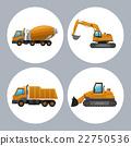 dump, truck, wheel 22750536