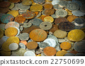 Old European Coins Background 22750699