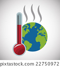 global, warming, thermometer 22750972