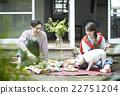 คู่รักและสัตว์เลี้ยง 22751204