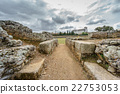 Entrance to the ruins of the Roman circus 22753053