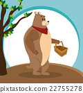 bear, animal, vector 22755278