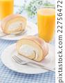瑞士卷 果冻卷 夹心蛋糕 22756472