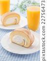 瑞士卷 果冻卷 夹心蛋糕 22756473