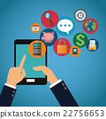 mobile social media 22756653