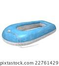 橡皮船水彩 22761429