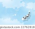 锦鲤 鲤鱼 鱼 22762818