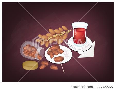 Traditional Black Hot Tea, Drink in Azerbaijan 22763535