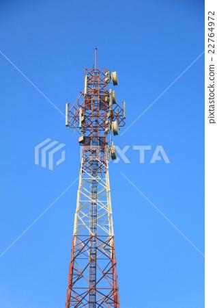 Satellite pillar base station. 22764972