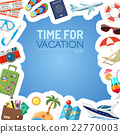 Vacation and Tourism Concept 22770003