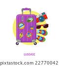 行李 假期 向量 22770042