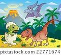 Dinosaur topic image 1 22771674