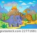 Dinosaur topic image 8 22771681