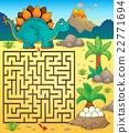 Maze 3 with dinosaur theme 1 22771694