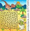 Maze 3 with dinosaur theme 2 22771695