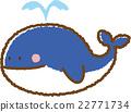 鯨魚 材料 素材 22771734