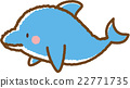 海豚 材料 素材 22771735