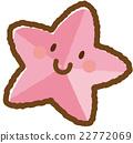 海星(粉紅色) 22772069