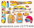travel, ski, winter 22775406