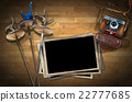 Fencing - Old Camera and Photo Frames 22777685