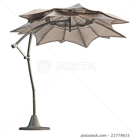 Modern beach umbrella 22779633