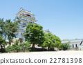 福山城堡 城堡塔樓 天守閣 22781398