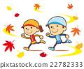 秋季运动 体育秋天 夫妇 22782333