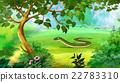 Slow Worm (Anguis Fragilis). Limbless Lizard. 22783310