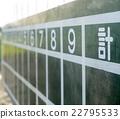 比分板 操场 木板 22795533