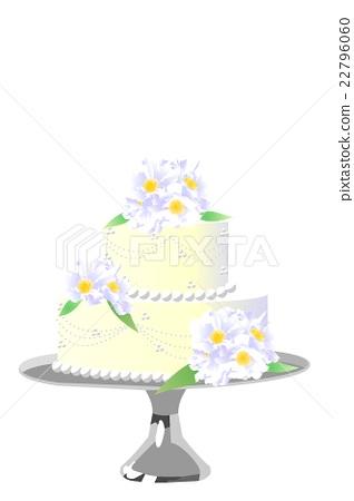 웨딩 케이크 22796060