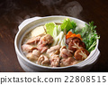 food cooked in a pot, cooking in a pot, pot of chicken or seafood 22808515
