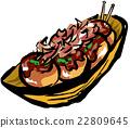 食物 盘 食品 22809645