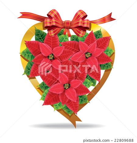 Christmas Poinsettia. 22809688