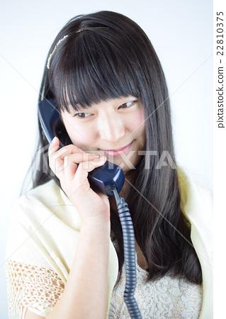 日本OL女性電話接收 22810375